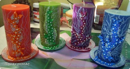 Вот такие у меня получились свечи фото 4
