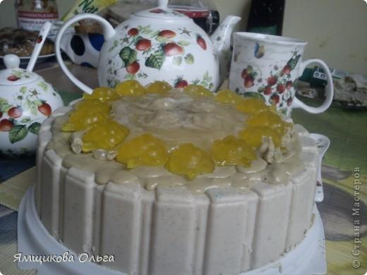 Всем привет!!! Много мастер-классов я пересмотрела и обработав их на свой лад решила сделать вот такой тортик!!! фото 1