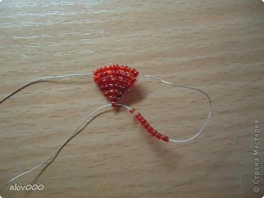 Вот такие розочки у меня получились по этому МК http://www.liveinternet.ru/users/3557225/post122684900/ . Я решила сделать свой мини-МК. фото 3