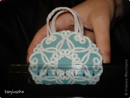 Сегодня будем делать сумочку в технике пергамано. фото 6