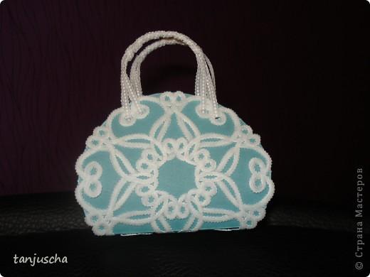 Сегодня будем делать сумочку в технике пергамано. фото 7