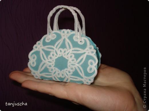 Сегодня будем делать сумочку в технике пергамано. фото 1