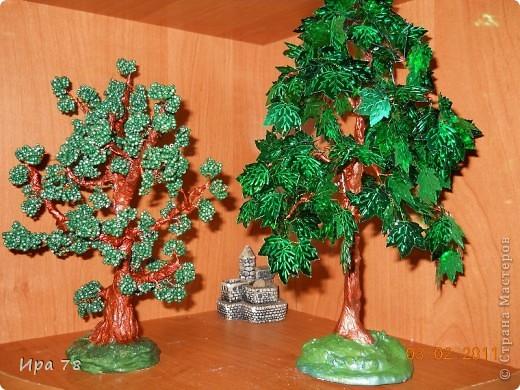 Бисероплетение дерево из пайеток мастер класс идеи #10