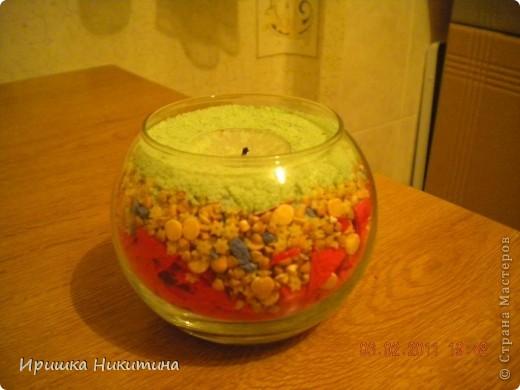 Горящая свеча фото 2