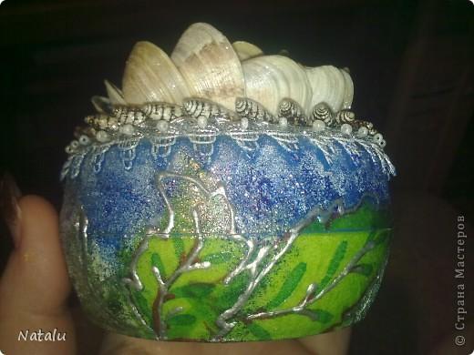 Эта шкатулка сделана для моей любимой сестренки. фото 3