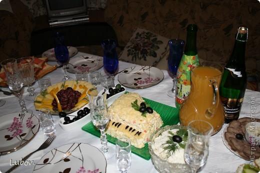 Оформление праздничного стола. фото 3