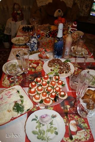 Оформление праздничного стола. фото 4