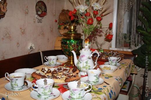 Оформление праздничного стола. фото 8