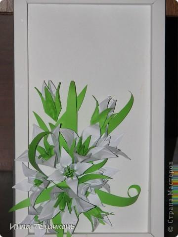 Цветы такие как и на кусудаму лилии. фото 1