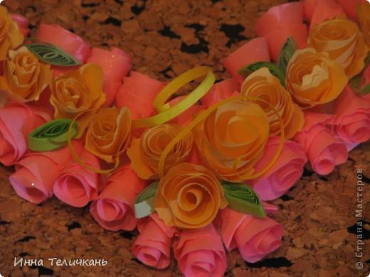Сердечко из роз фото 2