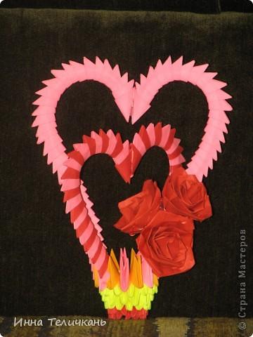 Модульные сердечка фото 3