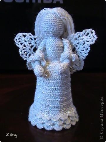 Добрый вечер!!!! Сегодня я к Вам с ангелочками. Увидела здесь http://stranamasterov.ru/node/140676?c=favorite   И не удержалась.  Спасибо большое Galy!!!!!   фото 9