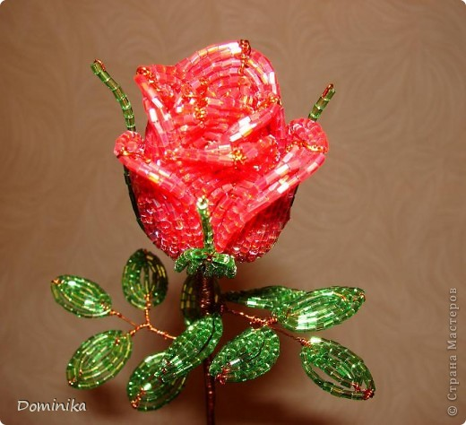 цветы из бисера Бисер фото