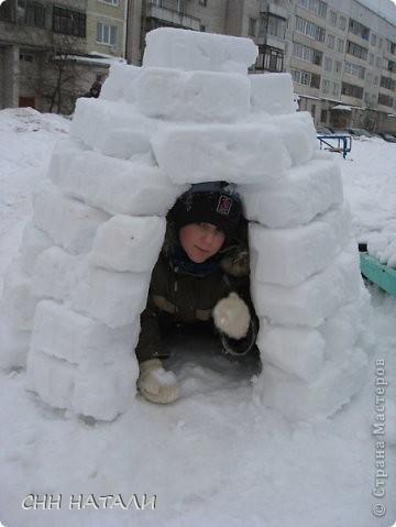 Вот такой домик построили часа за 2 с сыном фото 4