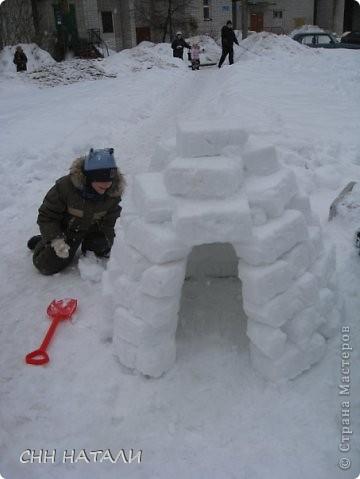 Вот такой домик построили часа за 2 с сыном фото 5
