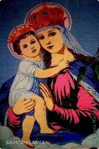 Богородица,моя первая работа