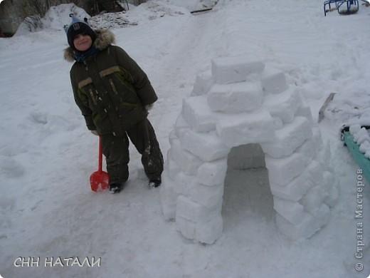 Вот такой домик построили часа за 2 с сыном фото 3