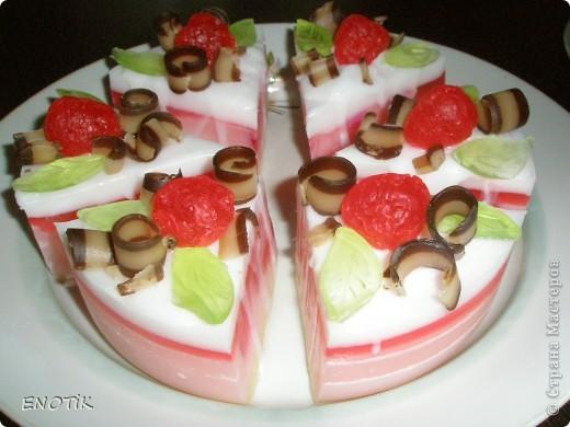 Тортик с клубникой фото 1