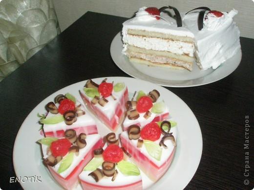 Тортик с клубникой фото 3
