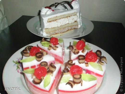 Тортик с клубникой фото 2