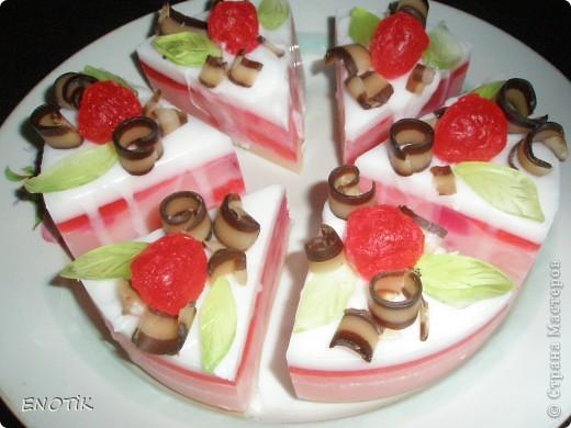 Тортик с клубникой фото 4