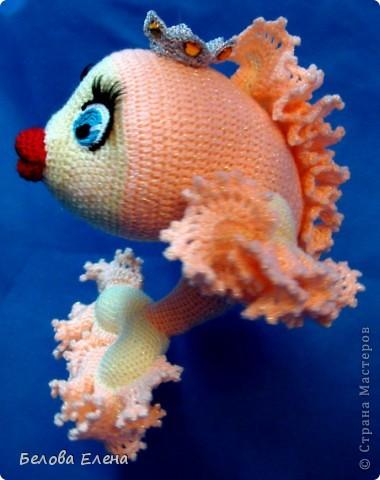 крючком Золотая рыбка