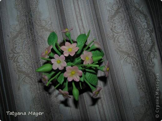 Вазончик с цветами из ХФ фото 2