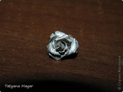 Розочка из металла фото 2