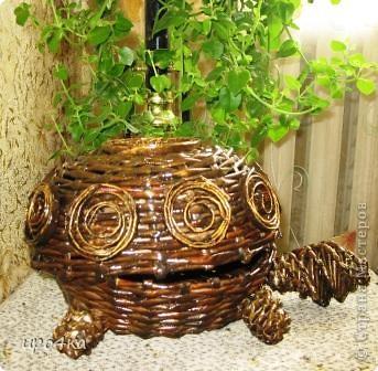 Идейка черепахи с чешского сайта, но украсила по своему. Вот что получилось. фото 3