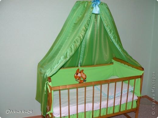 Кроватка для сынули.