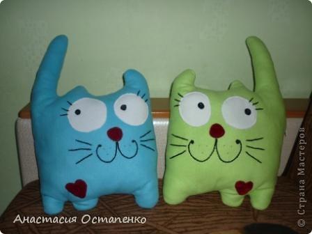 Вот такие очаровательные коты стали моим подарком для мамы ко дню рождения фото 1