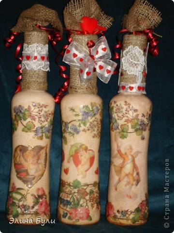 Бутыки- подарки на день Валентина приятным, хорошим людям фото 2