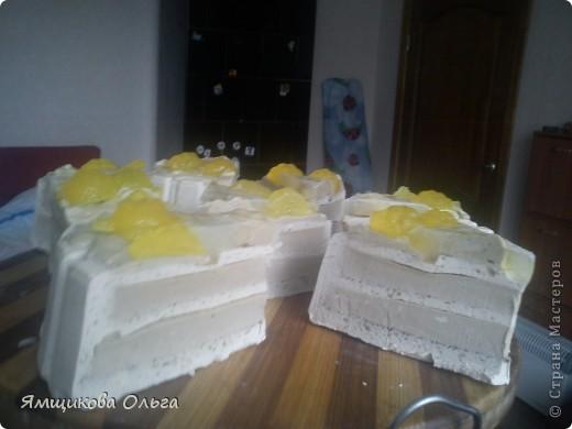 Всем привет!!! Много мастер-классов я пересмотрела и обработав их на свой лад решила сделать вот такой тортик!!! фото 19