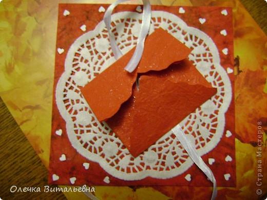 Скоро у подруги дочери день рождения. Решили сделать открытку своими (моими) руками... Идея k.aktus с сердечком-конвертиком понравилась дочери, поэтому взяли её за основу. А дальше - полёт фантазии (если можно так назвать). фото 5
