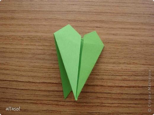 Сделала образцы для кружка.   Кусудамы (кроме одной) выполнены на основе классической кусудамы.  фото 6