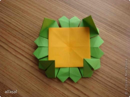 Сделала образцы для кружка.   Кусудамы (кроме одной) выполнены на основе классической кусудамы.  фото 10
