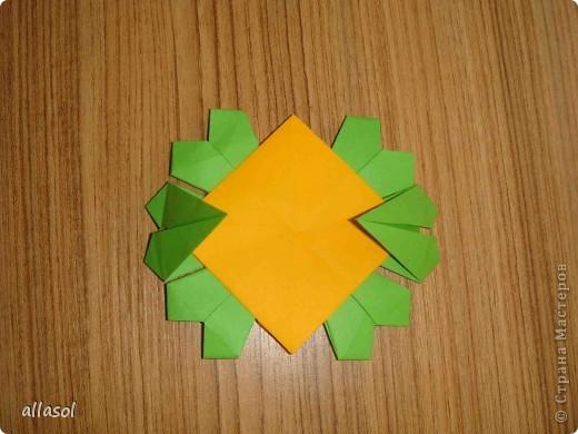 Сделала образцы для кружка.   Кусудамы (кроме одной) выполнены на основе классической кусудамы.  фото 12
