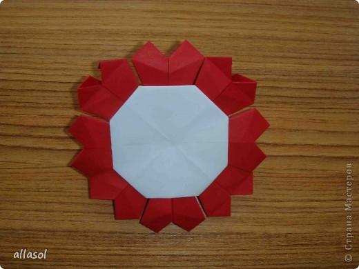 Сделала образцы для кружка.   Кусудамы (кроме одной) выполнены на основе классической кусудамы.  фото 22