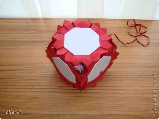 Сделала образцы для кружка.   Кусудамы (кроме одной) выполнены на основе классической кусудамы.  фото 25