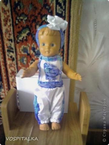 Новый гардероб для старенькой куколки. Этой кукле в этом году исполняется 51 год!!!!!!!!!!!