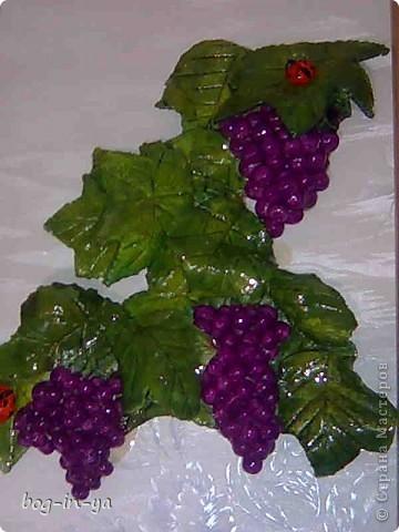 Мой виноград. Фон еще добавить нужно, а то как-то пусто... фото 1