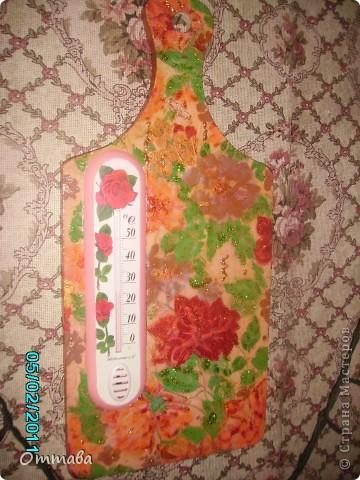 Комнатный термометр на кухню
