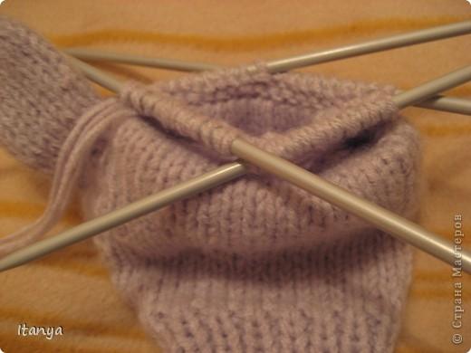 Эти варежки-перчатки мой дебют в вязании и варежек и перчаток. фото 4