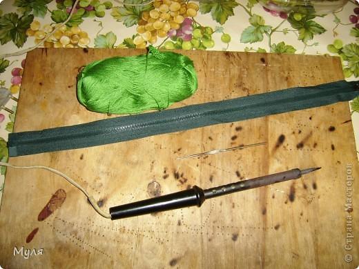 Мастер-класс Вязание крючком Контейнер для мелочей и косметичка Нитки фото 3