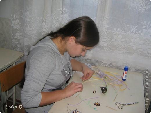 """Это работа Артюховой Вали. Валя уже побеждала в городском конкурсе с  работой """"Пасхальное яйцо"""". Это замечательная девочка - труженица и творческий человек. фото 2"""