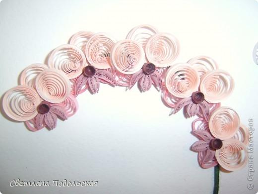Наконец-то и у меня есть орхидеи.По мотивам работы Ольги К. Работа в рамке фото 2