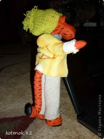 Делала тигра по просьбе в подарок фото 2