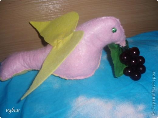 вот такую корзиночку с птичками я решила сделать для валентинок, использовала сердечко, что выставляла ранее фото 3