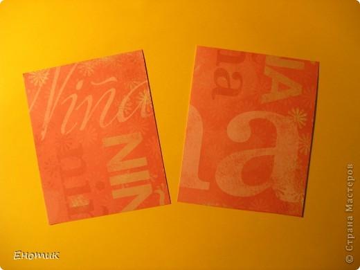 Доброе время суток! Люблю простые в изготовлении открытки. Недавно мне представилась возможность сделать именно такую простенькую открыточку. фото 3