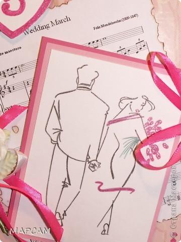 И снова, здравствуйте. Попросили сделать коробочку под диск родиетлям на юбилей свадьбы. Вот такая работау меня получилась. Напишу без комментариев, итак все понятно. фото 4